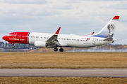 LN-DYV - Norwegian Air Shuttle Boeing 737-800 aircraft