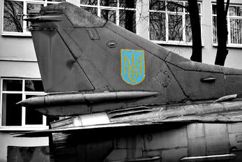 15 - Ukraine - Air Force Mikoyan-Gurevich MiG-23MF