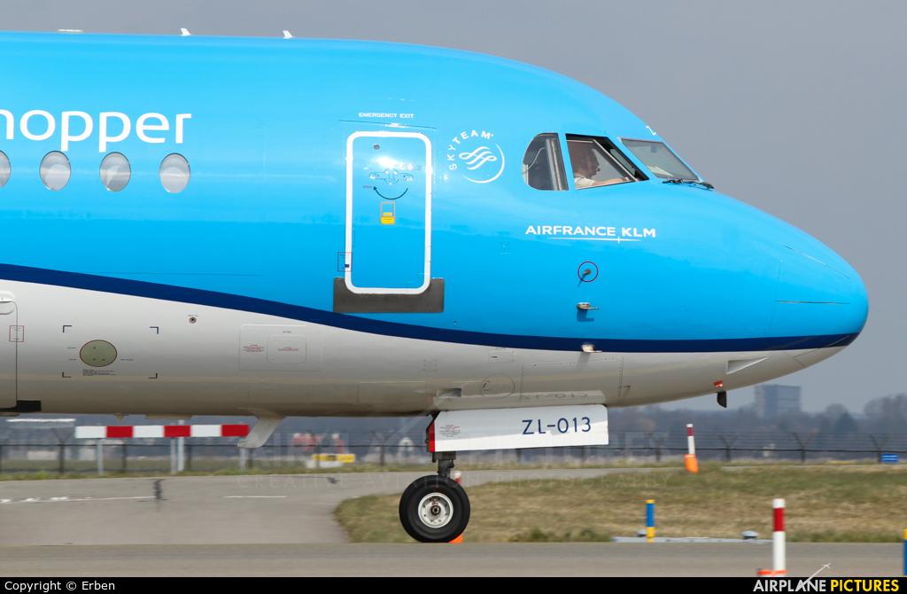 KLM Cityhopper PH-KZL aircraft at Amsterdam - Schiphol