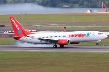 M-ABID - Corendon Airlines Boeing 737-800