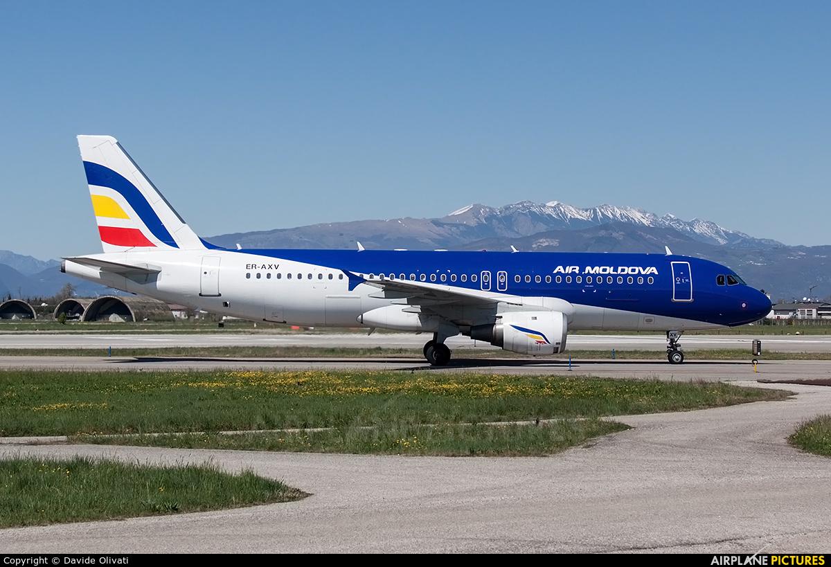 Air Moldova ER-AXV aircraft at Verona - Villafranca