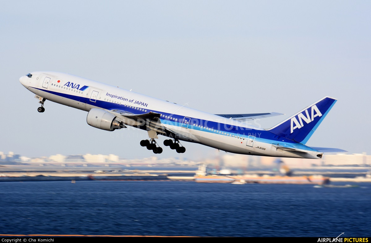 ANA - All Nippon Airways JA8198 aircraft at Tokyo - Haneda Intl