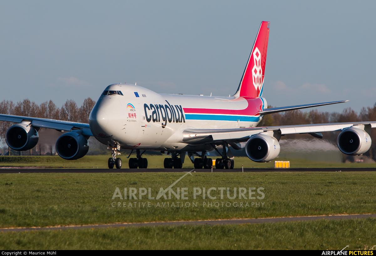 Cargolux LX-VCJ aircraft at Amsterdam - Schiphol