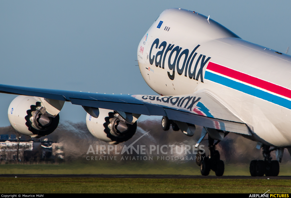 Cargolux LX-VCJ aircraft at Amsterdam - Schiphol