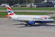 G-EUPU - British Airways Airbus A319 aircraft