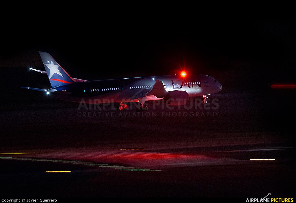LAN Airlines CC-BB_ aircraft at Madrid - Barajas