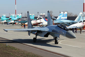 22 - Russia - Air Force Sukhoi Su-35