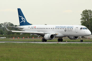 4O-AOD - Montenegro Airlines Embraer ERJ-190 (190-100)