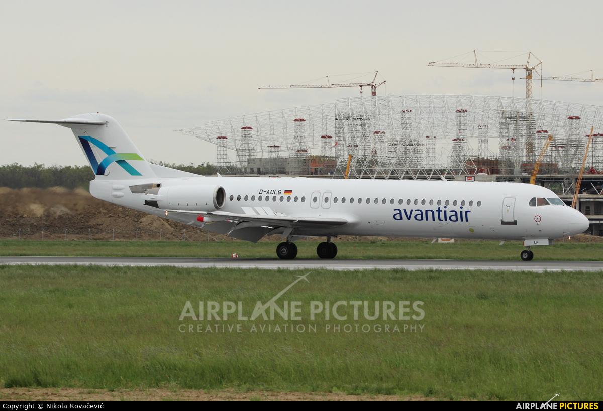 AvantiAir D-AOLG aircraft at Zagreb