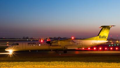 YL-BAH - Air Baltic de Havilland Canada DHC-8-400Q / Bombardier Q400
