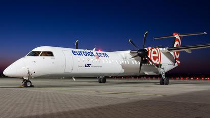 SP-EQI - euroLOT de Havilland Canada DHC-8-400Q Dash 8