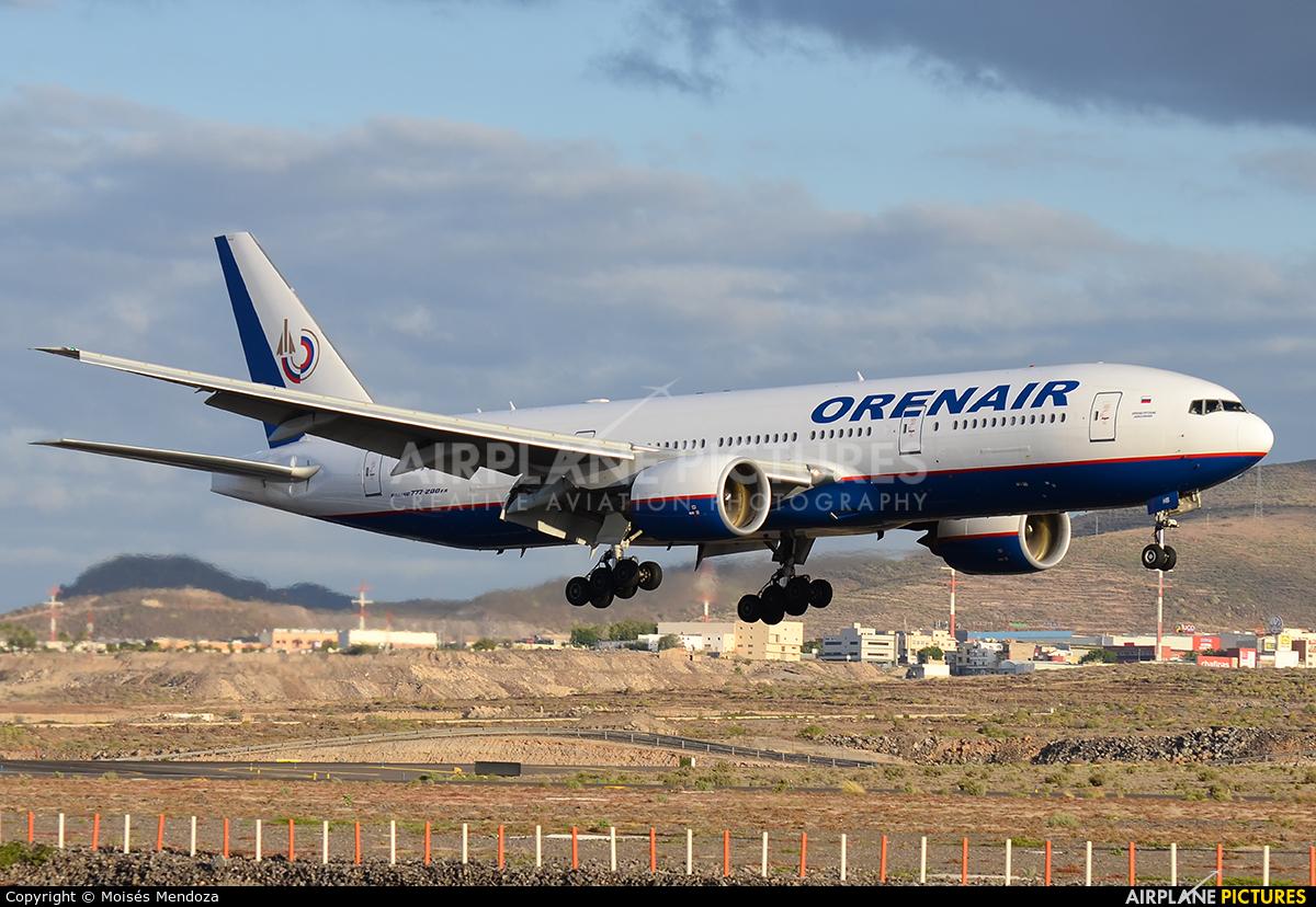 Orenair VP-BHB aircraft at Tenerife Sur - Reina Sofia