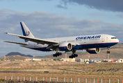 VP-BHB - Orenair Boeing 777-200ER aircraft