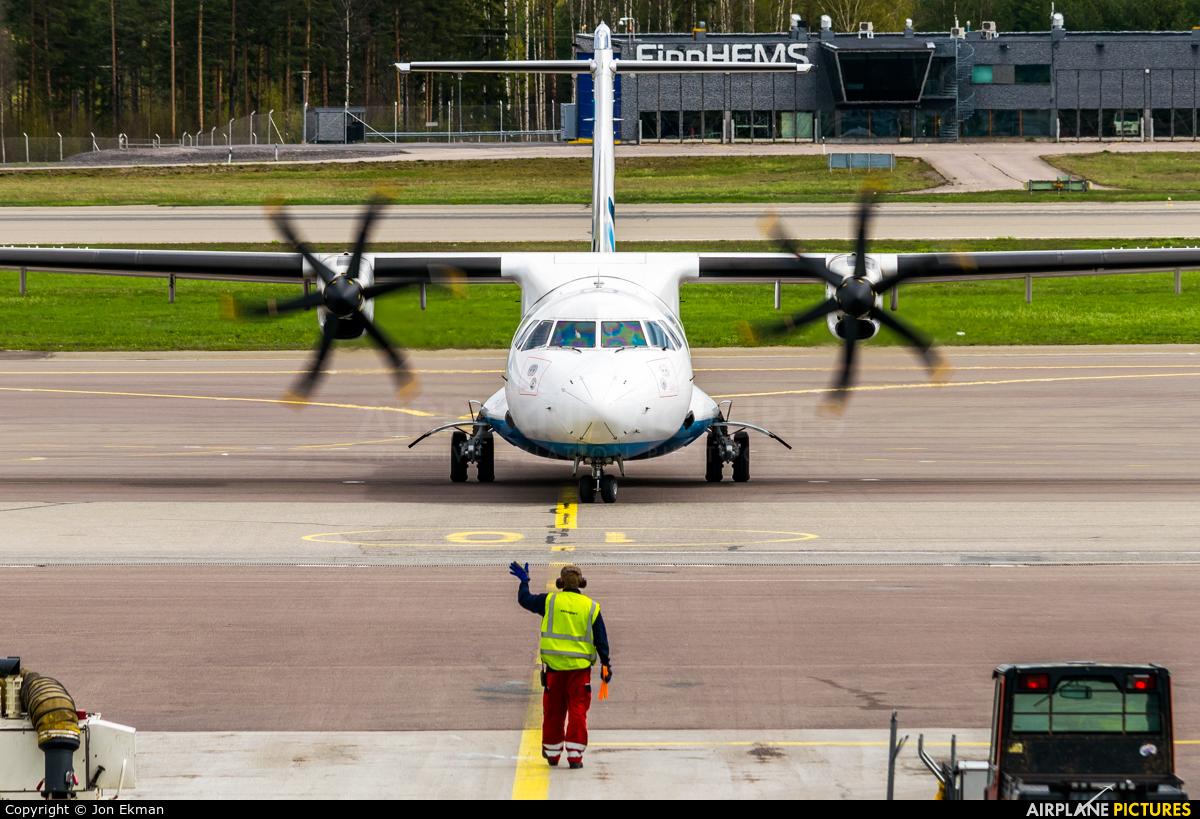 FlyBe Nordic OH-ATG aircraft at Helsinki - Vantaa