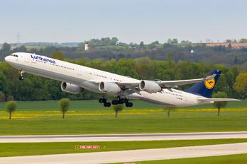 D-AIHQ - Lufthansa Airbus A340-600