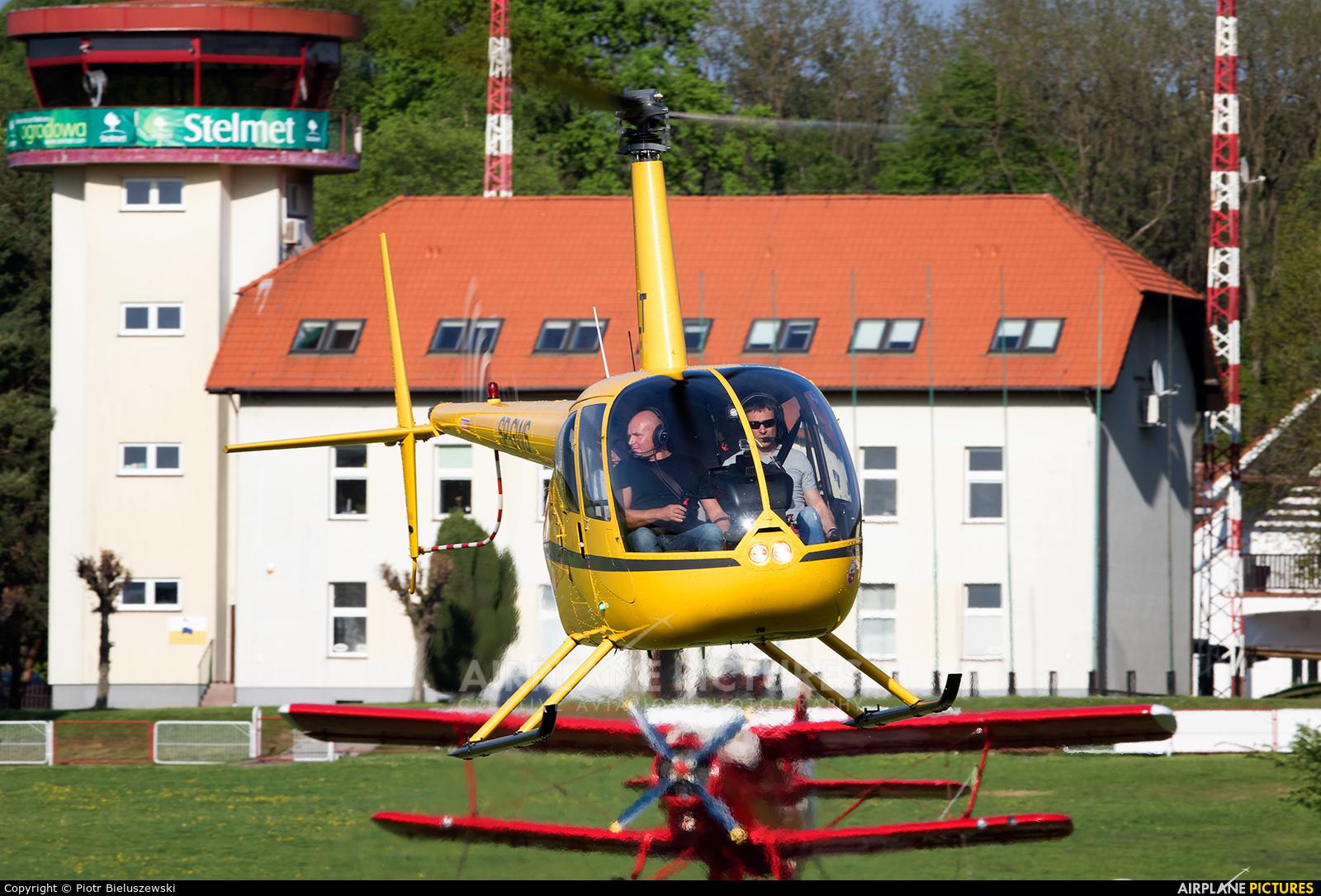 Salt Aviation SP-GWS aircraft at Zielona Góra - Przylep