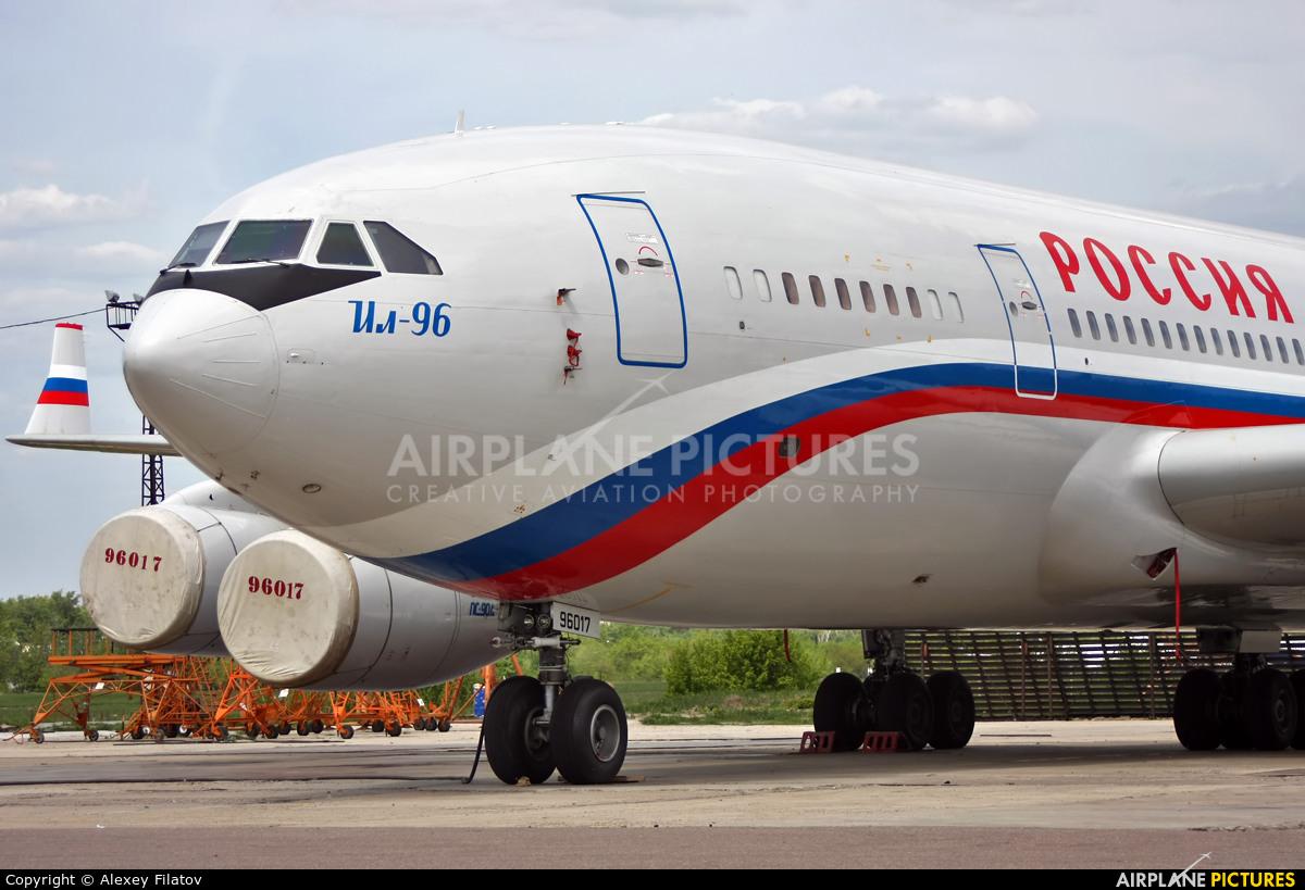 Rossiya RA-96017 aircraft at Voronezh / Pridacha