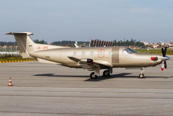 LX-JFX - Jetfly Aviation Pilatus PC-12