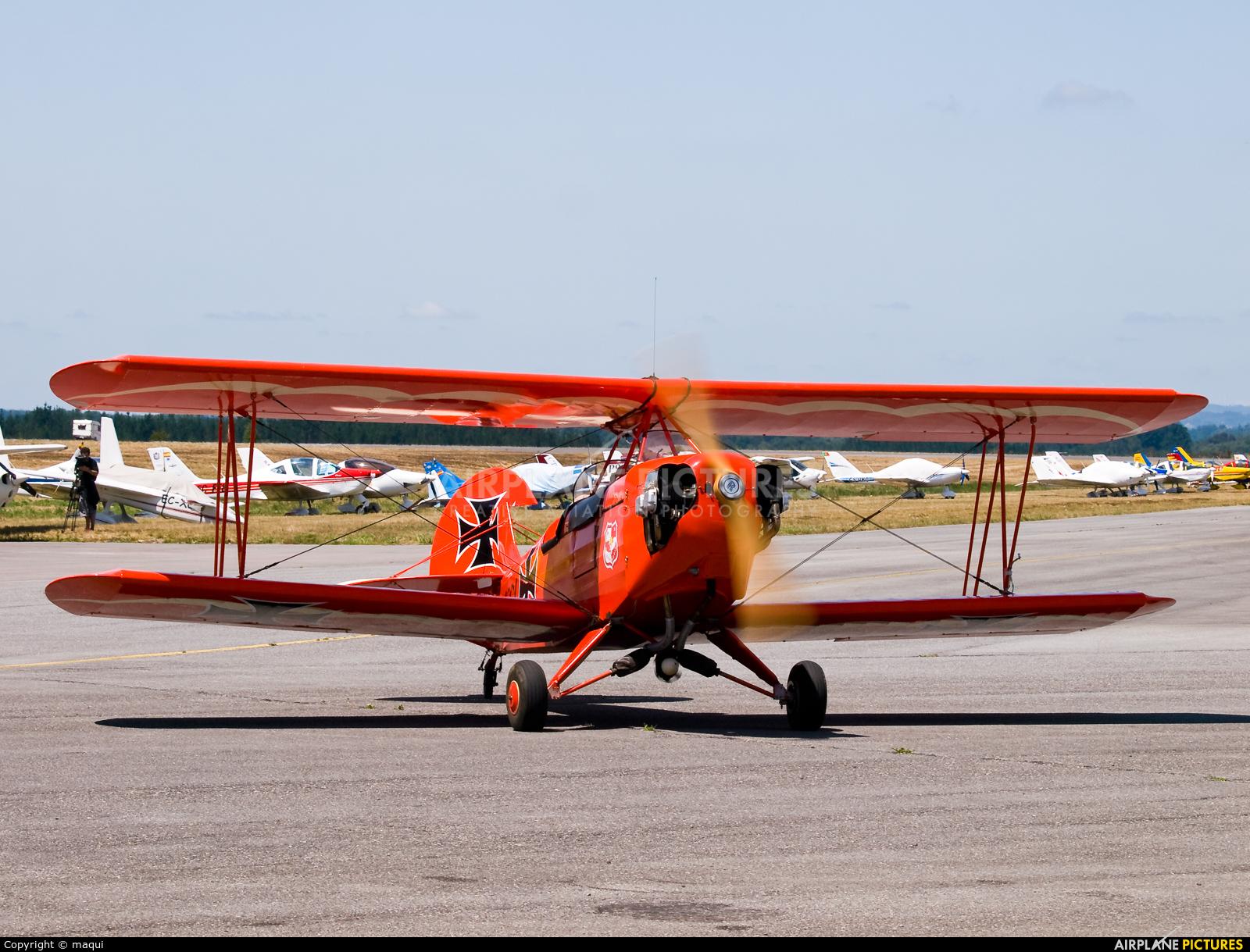 Private EC-XBI aircraft at Lugo - Rozas