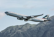 B-HXB - Cathay Pacific Airbus A340-300 aircraft