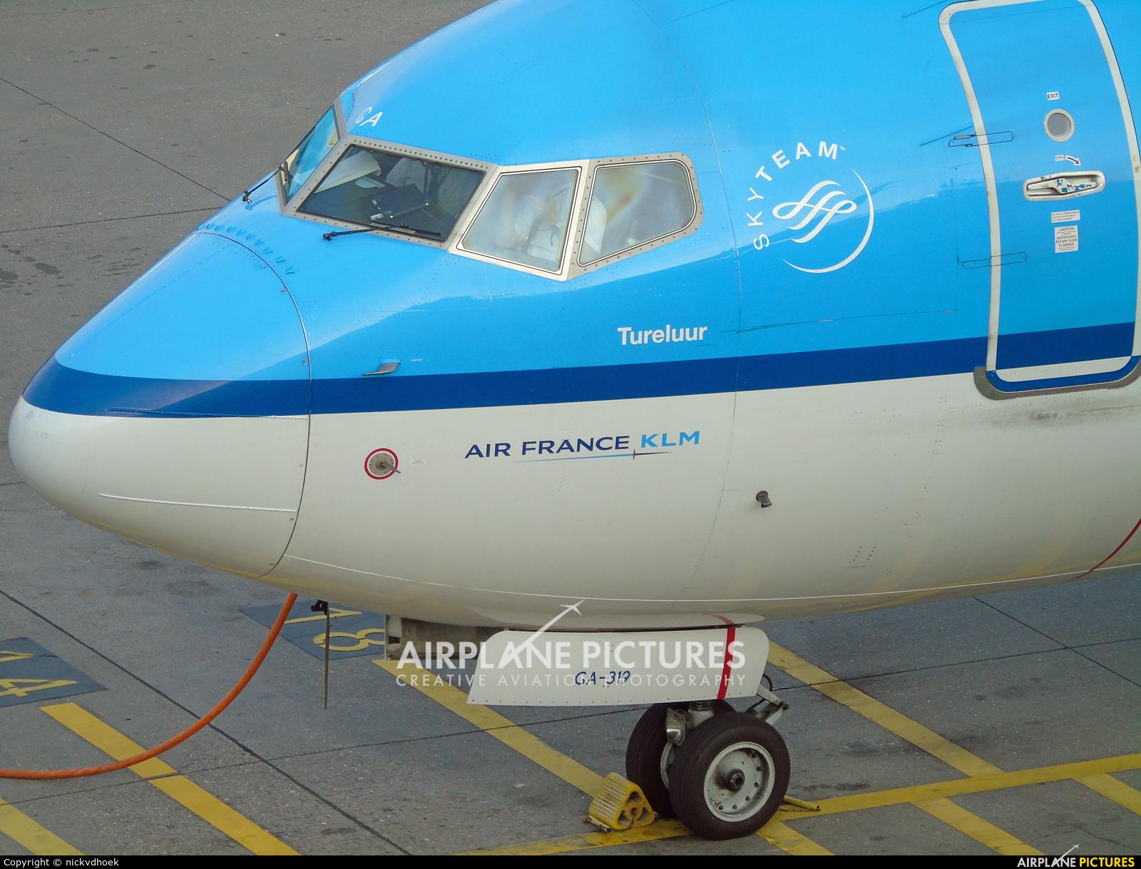 KLM PH-BGA aircraft at Amsterdam - Schiphol