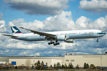 B-KQW - Cathay Pacific Boeing 777-300ER