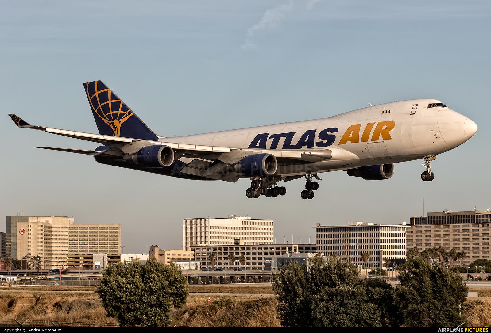Atlas Air N498MC aircraft at Los Angeles Intl