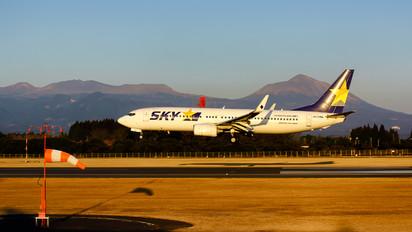 JA73NA - Skymark Airlines Boeing 737-800