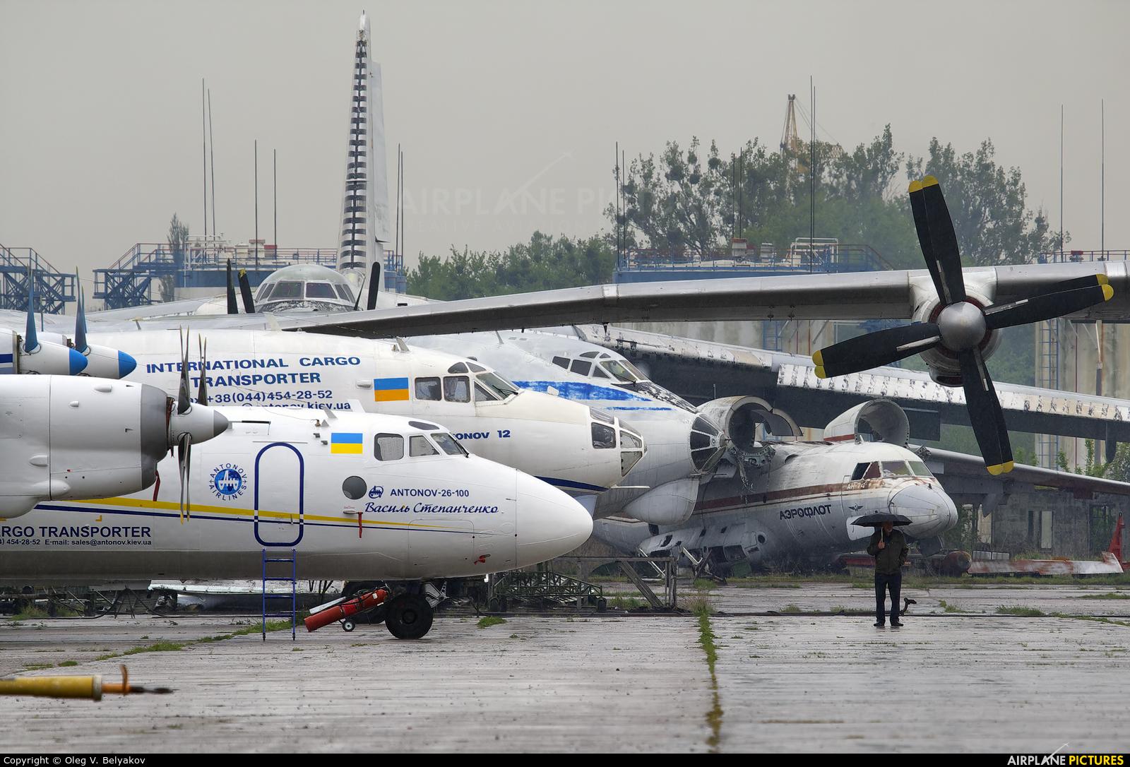 Antonov Airlines /  Design Bureau UR-13395 aircraft at Kiev - Gostomel
