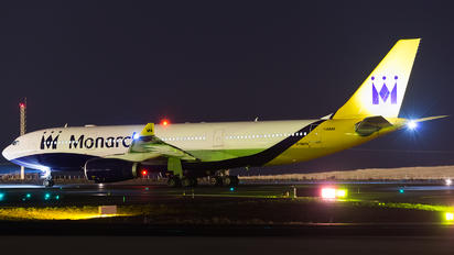 G-SMAN - Monarch Airlines Airbus A330-200