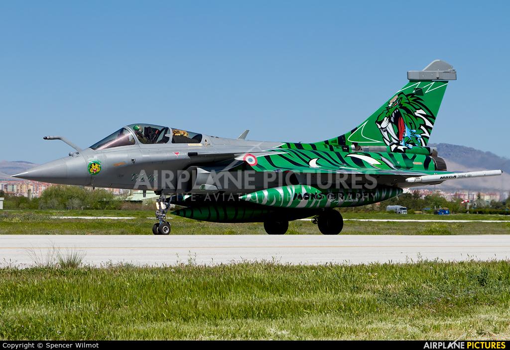 France - Air Force 119 aircraft at Konya
