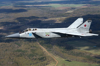 91 - Russia - Air Force Mikoyan-Gurevich MiG-31 (all models)
