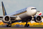 9V-SWV - Singapore Airlines Boeing 777-300ER aircraft