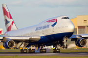 G-BNLN - British Airways Boeing 747-400 aircraft