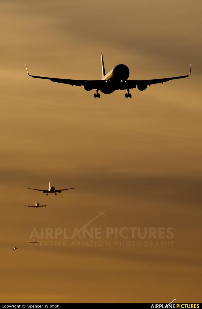 Delta Air Lines - aircraft at London - Heathrow