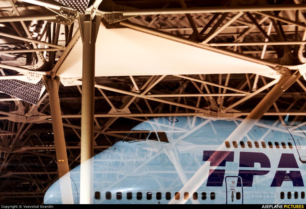 Transaero Airlines EI-XLL aircraft at Moscow - Vnukovo