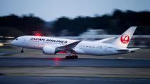 JA824J - JAL - Japan Airlines Boeing 787-8 Dreamliner aircraft