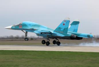 RF-93838 - Russia - Air Force Sukhoi Su-34