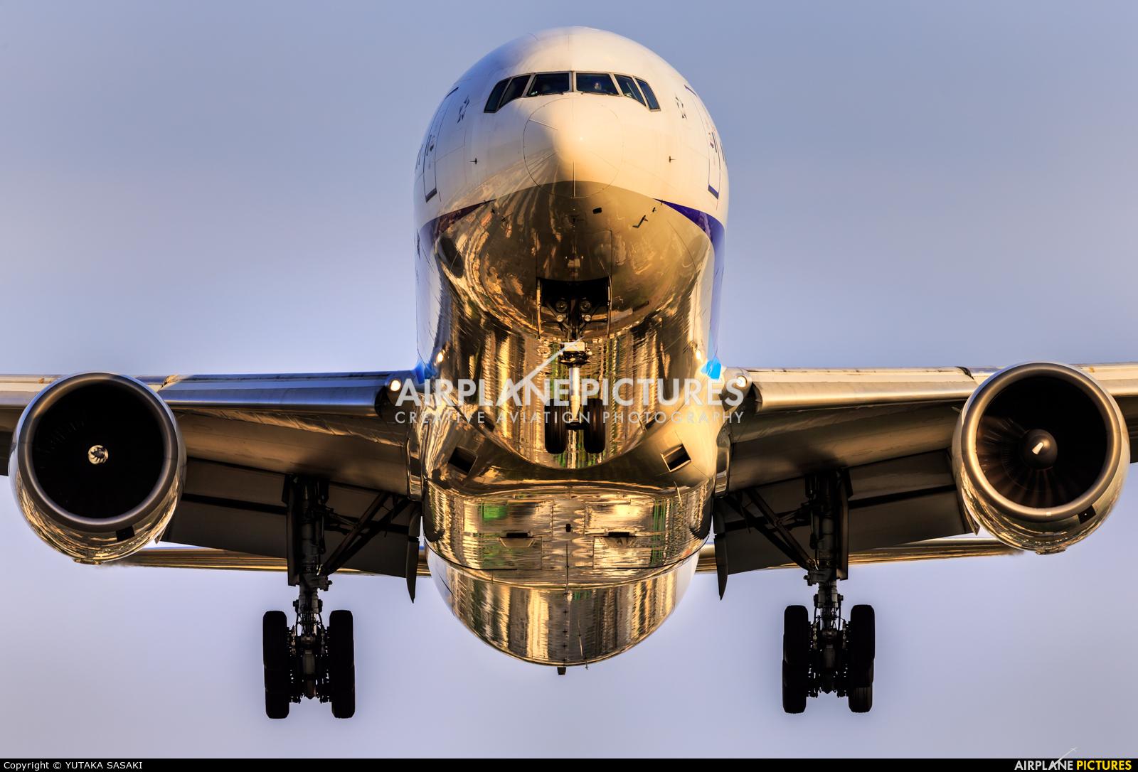 ANA - All Nippon Airways JA751A aircraft at Osaka - Itami Intl