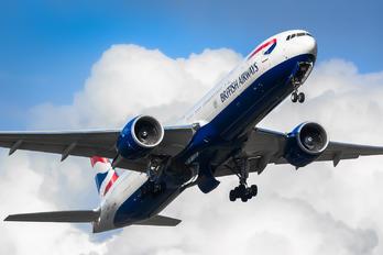 G-STBK - British Airways Boeing 777-300ER