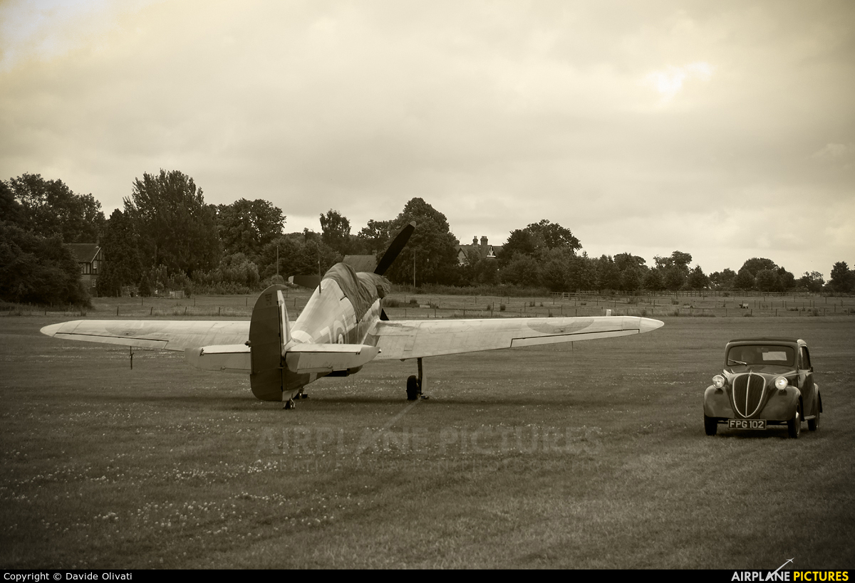 The Shuttleworth Collection G-BKTH aircraft at Old Warden