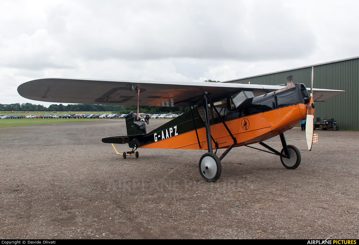 Private G-AAPZ aircraft at Old Warden