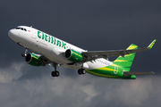 PK-GQK - Citilink Airbus A320 aircraft