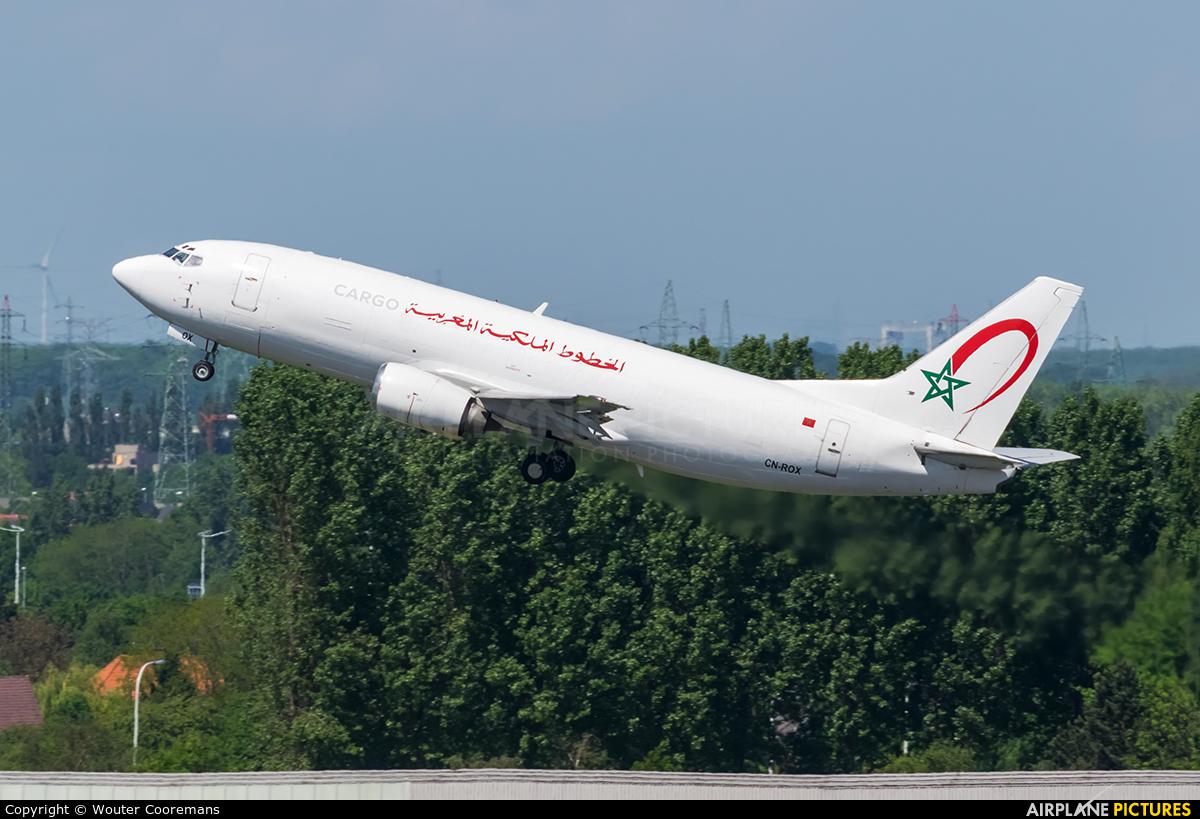 Royal Air Maroc Cargo CN-ROX aircraft at Brussels - Zaventem