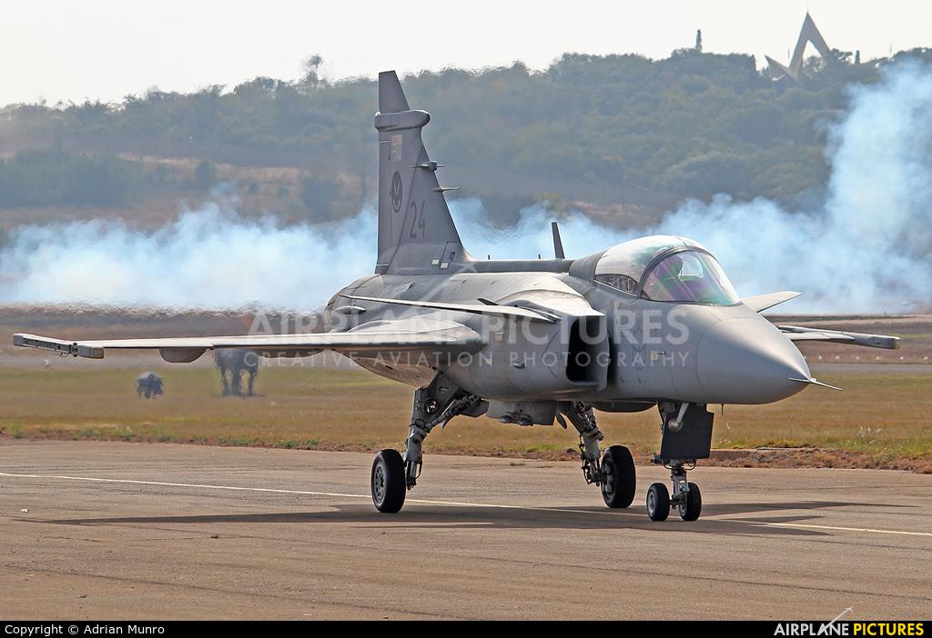 South Africa - Air Force 24 aircraft at Swartkops