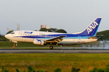 JA304K - ANA - All Nippon Airways Boeing 737-500