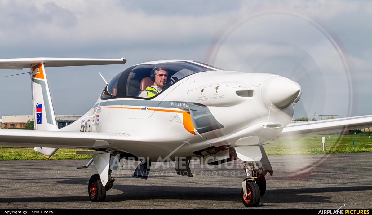 Pipistrel S5-MTP aircraft at Kortrijk-Wevelgem