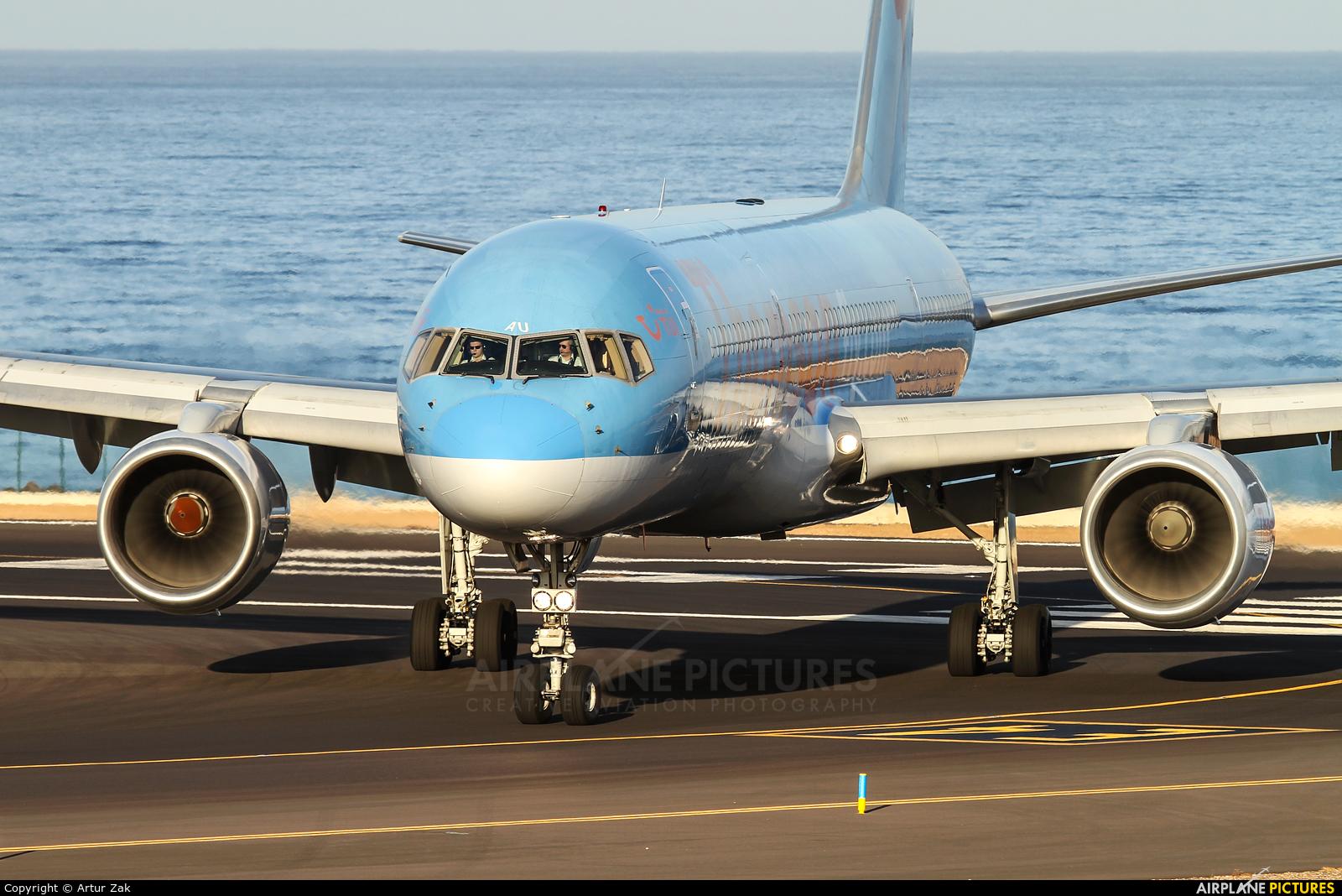 Thomson/Thomsonfly G-BYAU aircraft at Lanzarote - Arrecife