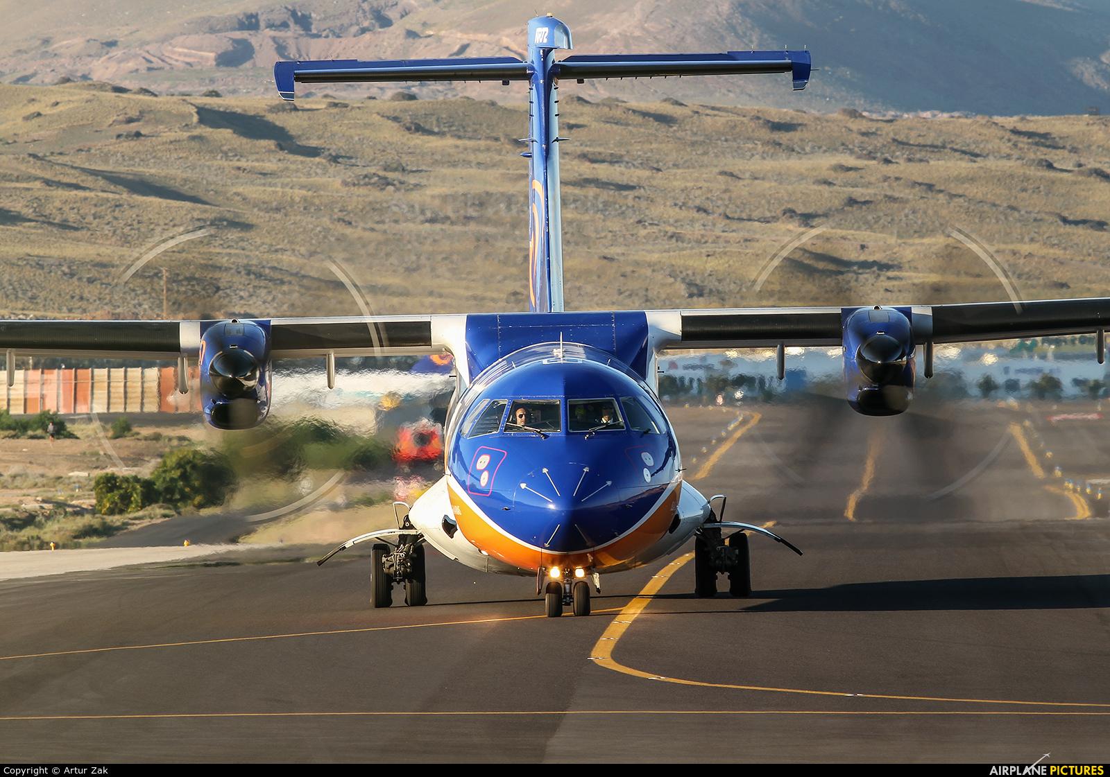 Islas Airways EC-IKQ aircraft at Lanzarote - Arrecife