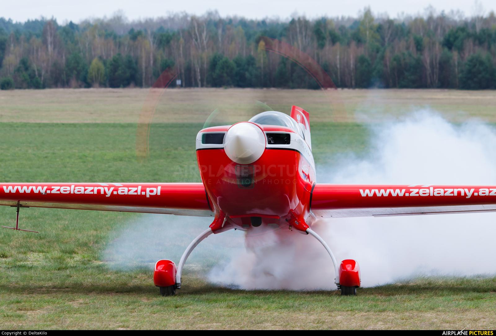 Grupa Akrobacyjna Żelazny - Acrobatic Group SP-AUP aircraft at Poznań - Kobylnica
